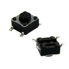 CHAVE TACTIL 6X6X4,3MM SMD